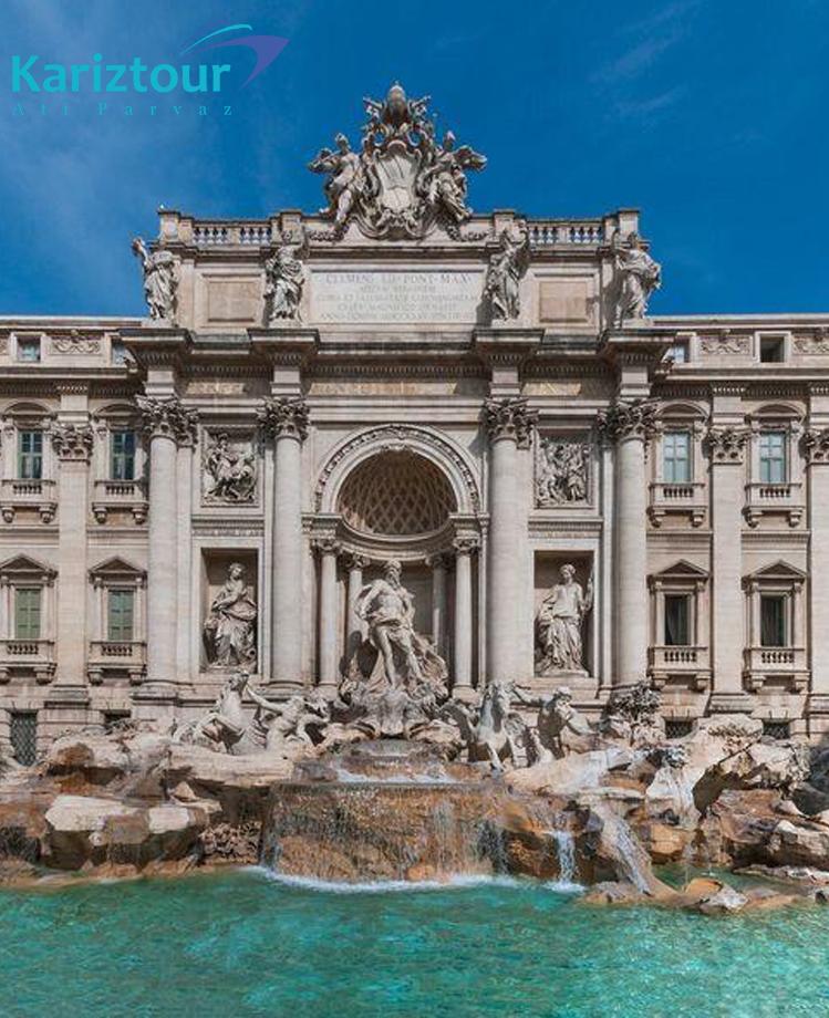 تور-ایتالیا-شهر-رم-فواره تروی