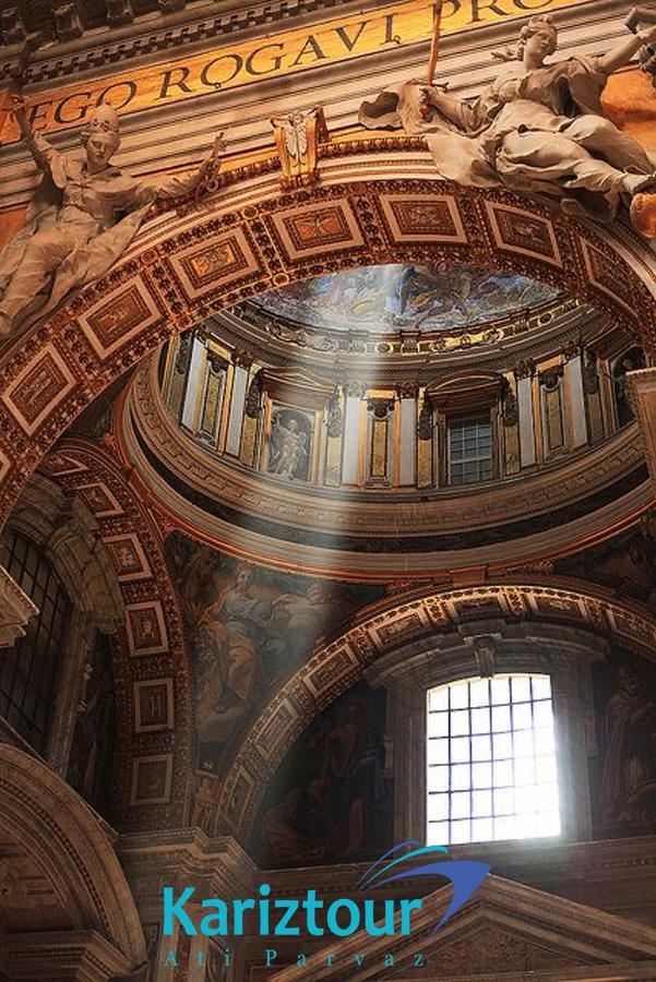 کلیسا-معروف-واتیکان-ایتالیا